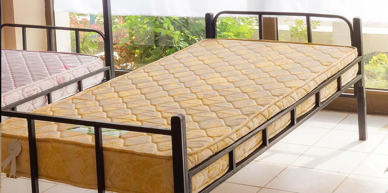 Single Metal Bed Latex Foam